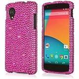 Nexus 5 Case, BoxWave® [SparkleMe Case] Sparkling Girly