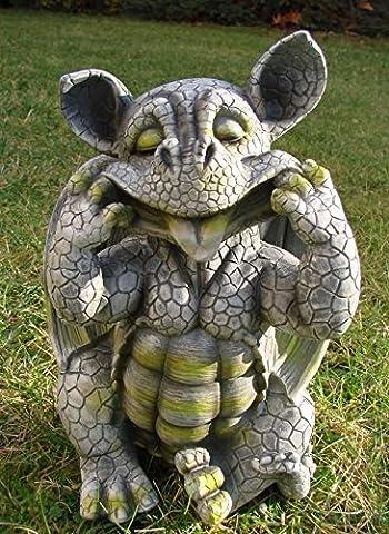 Baby Dragon Gargoyle Figurine Sticking Tongue Out