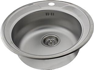 Amazon.de: Küchenspülen - Kücheninstallation: Baumarkt: 1 Becken, 2 ...
