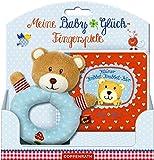 : Meine BabyGlück-Fingerspiele: Kleiner Kribbel-Krabbel-Bär: Buch mit Greifling