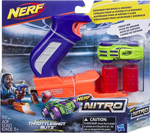 NerfC0780EU40 –Nitro Starter Pack, colores aleatorios