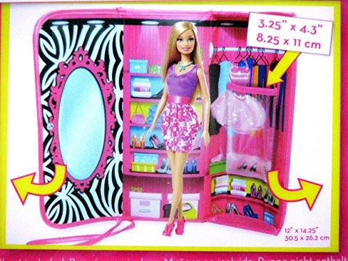 Imagen principal de Barbie A1466X2 - Bolso y armario para la ropa de las muñecas