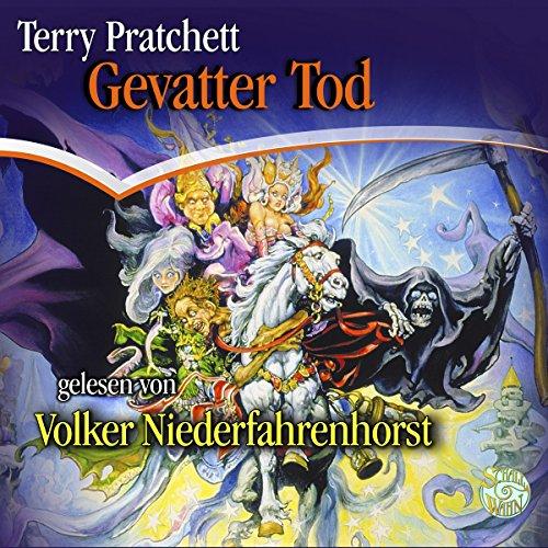 Buchseite und Rezensionen zu 'Gevatter Tod (Scheibenwelt 4)' von Terry Pratchett