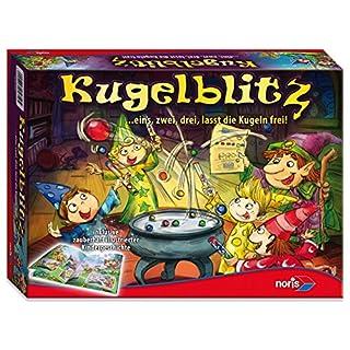 Noris Spiele 606015619 - Kugelblitz, Kinderspiel