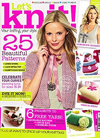 Let's Knit Magazine, March 2009 Issue 16