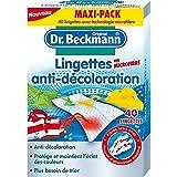 Dr Beckmann lingettes anti décoloration microfibres x40 Prix Unitaire - Livraison Gratuit Sous 3 Jours