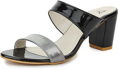 TRASE Elysia Pumps Block Heel Sandal for Women