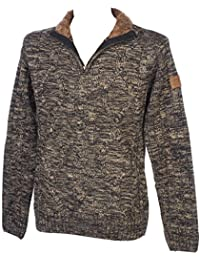 Airness - Maped 1/2 zip marron - Pull