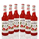 Monin Sirup Pink Grapefruit, 0,7L 6er Pack