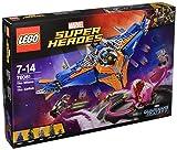 LEGO Marvel Super Heroes 76081 - Die Milano gegen den Abilisk, Superhelden-Spielzeug