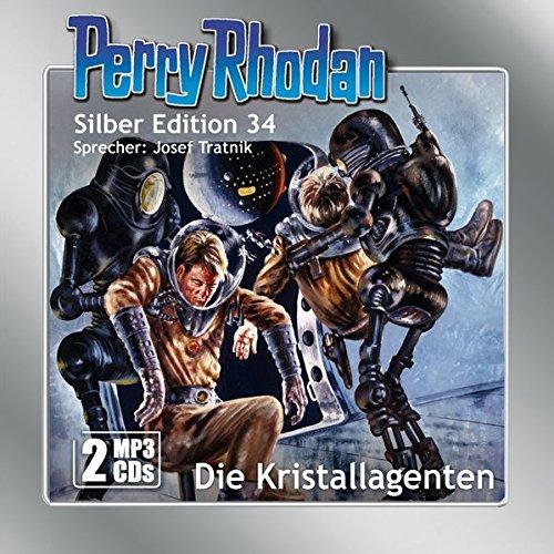 Perry Rhodan Silber Edition (MP3-CDs) 34: Die Kristallagenten