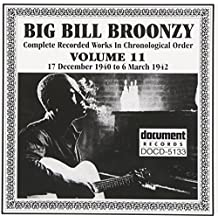 Complete Recorded Works, Vol. 11 by Big Bill Broonzy (2002-03-28)