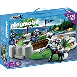 Playmobil - 4014 - Jeu de Construction - Superset Bastion des Chevaliers