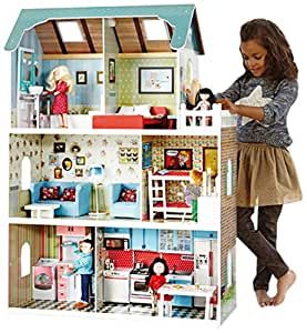 Itsimagical 73371 imaginarium amanda maison playset for Amanda family maison