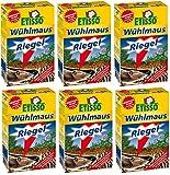 6 x 18 (108 Stk) ETISSO Wühlmaus-Riegel + Zeckenzange mit Lupe