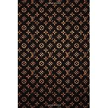 Louis Vuitton - Brass Notebook: Journal Paper Composition Notebook