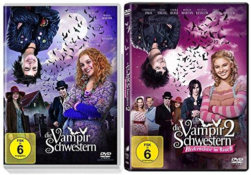 Die Vampirschwestern - Teil 1+2 * DVD Set