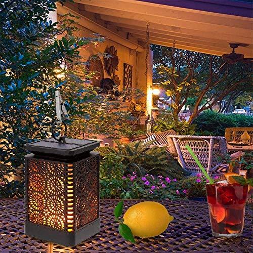 LED Solarleuchten 99LED Solar-Flamme flackernde Licht-Fackel-Licht-im Freienlampe Weihnachtsdeko