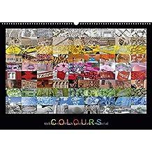 Colours (Wandkalender 2015 DIN A2 quer): Eine farbenfrohe Fotosammlung mit Impressionen aus aller Welt. Jeder Monat mit eigener Farbstimmung. (Monatskalender, 14 Seiten)