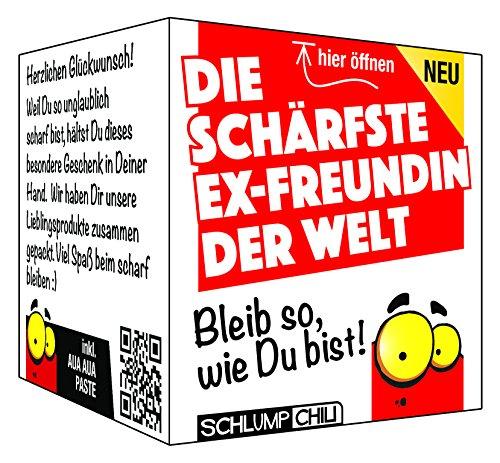 Die schärfste Ex-Freundin der Welt – Ein witziges Geschenk Set für Frauen!