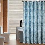 Liudaye Dusche Vorhang Wasserdicht und Mehltau-Nachweis badezimmerdusche