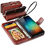 Provides your phone with a rich sophisticated look with Glistening Deluxe Leather surface. Provide Card slots to carry Credit cards, Cash or Receipts - No more bulky wallets. Gentle but firm magnetic clasp to secure the case intact and easy opening. ...