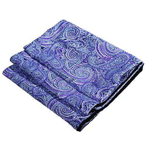 Unisex J S Shirts Schal aus Seide und Wolle, verschiedene Farben und Designs Gr. Einheitsgröße, S23 (Cashmere-swirl)