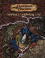 Dungeons & Dragons - Manuel des monstres IV - version française - version 3.5 du jeu de Gwendolyn Kestrel