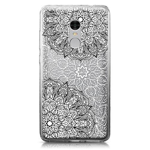 CASEiLIKE Funda Redmi Note 4, Carcasa Xiaomi Redmi Note 4, Arte de la Mandala 2093, TPU Gel Silicone Protectora Cover