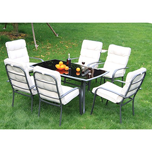 outsunny-7pc-metal-dining-set-table-chairs-set-garden-patio-furniture-outdoor-seater-with-cushions