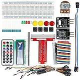 Aexit UNO R3 Projekt Basis Steckplatine Kits Lötlos Breadboard für Arduino Starter