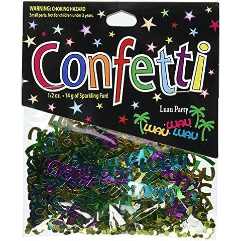 Beistle cn039Fiesta Luau Party Confetti–Pack de 6