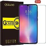 QULLOO Panzerglas für Xiaomi MI 9 Panzerglas Schutzfolie Film 9H Tempered Glass Hartglas HD Displayschutzfolie Panzerglasfolie Handy Schutzglas Glasfolie für Xiaomi MI 9