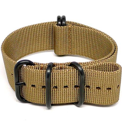 daluca-ballistic-nylon-nato-watch-strap-sabbia-fibbia-pvd-18-mm