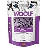 WOOLF Strisce di pollo e mirtilli 100gr - Snack per cani