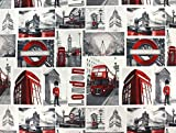 Dekostoff, Meterware ab 0,5 m London Underground