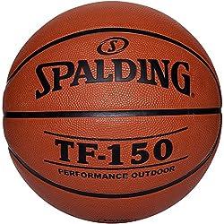 Spalding Tf150 Basketball Ball Mixte Adulte, Orange, 6