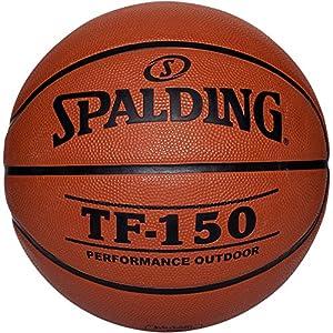 Spalding Tf150 Out Sz.6 Basketball Ball, orange, 6