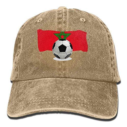 Balón de fútbol para Hombres y Mujeres con Gorra de béisbol Vintage Jeans de Marruecos