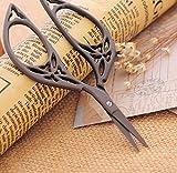 Tfxwerws vintage Creative DIY bricolage Outil Ciseaux de style rétro (Bronze)