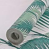 yhyxll Feuilles de Palmier Papier Peint de Jardin Papier Peint de Protection de l'environnement Papier Peint intissé 1