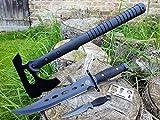 *4er SWAT-Set* tactical Kommando Multifunktions Downrange Tomahawk M-48 Axt / Beil / Wurfaxt + CANADA