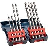 Bosch Professional 2607019903 SDS-Plus-3-Spiralbohrer für Bohrhammer, 8-teiliges Set