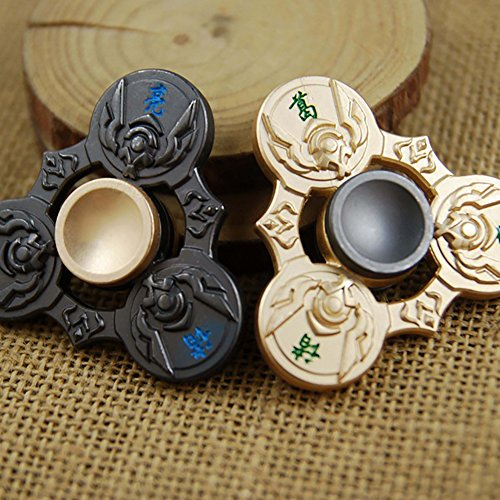 Wishwin Finger Spinner Cartoon Anime Style Hand Fashion Puzzle Stress Reducer Toy Gifts Magic Relief Adult Children Office /Outdoors