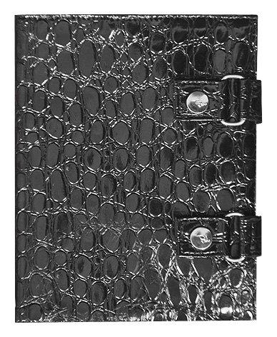 Roo Beauty Trousse pour matériel de manucure Noir/imprimé crocodile