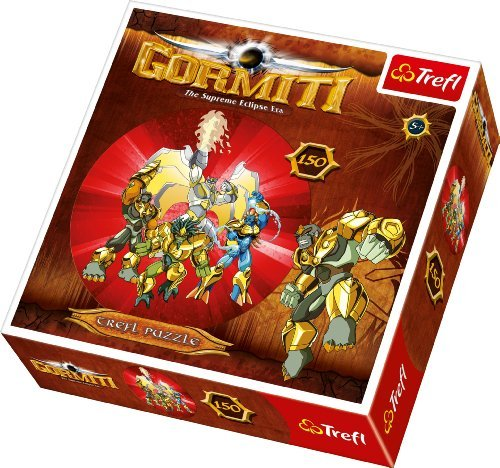 Gormiti - The Supreme Eclipse - Round Puzzle by Trefl