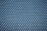 Ramdev Handicraft Jaipuri-Stoff, traditioneller Ethno-Muster, 100% Baumwolle, Indigo Dabu, Blau und Weiß, 111,8 cm breit, für Schneiderarbeiten, Laufstoff