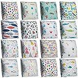 XdiseD9Xsmao Soft Durable Kissenbezug Doppelseitiger Druck Geometric Fish Pattern Dekokissen Fall Home Bed Sofa Car Ornament Decor 14#