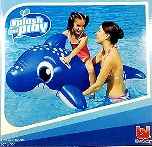Happy hot tubs delfino galleggiante gonfiabile bestway - Amazon piscina bambini ...