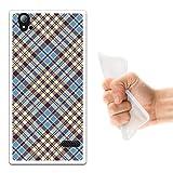 ZTE Blade Vec 4G Hülle, WoowCase Handyhülle Silikon für